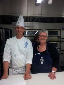 Chef Patrice Lucas and myself at Le Cordon Bleu Wellington