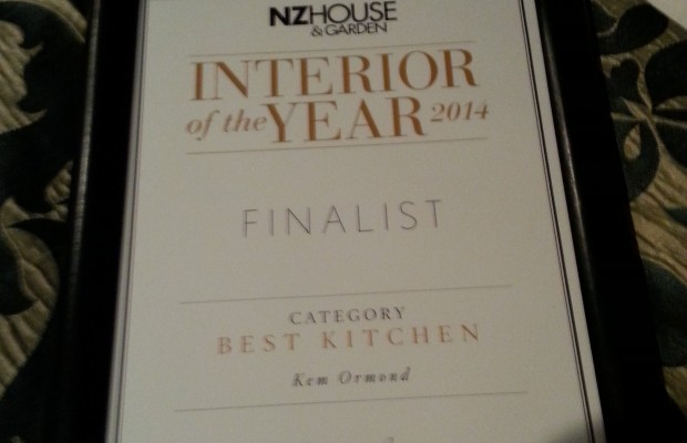 NZ House and Garden Interior awards 2014
