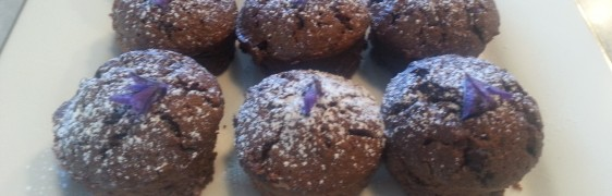 Chocolate Lavender Friands
