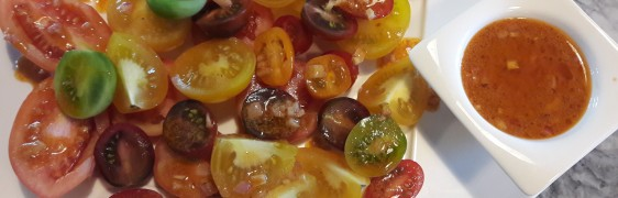"""CELEBRATION OF THE TOMATO ""SALAD"